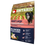 Ontario Dog Adult Large Chicken & Potatoes - 2,25