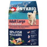 Ontario Dog Adult Large Fish & Rice - 2,25