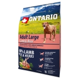 Ontario Dog Adult Large Lamb & Rice - 2,25