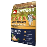 Ontario Dog Adult Medium Chicken & Potatoes - 2,25