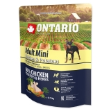 Ontario Dog Adult Mini Chicken & Potatoes - 0,75