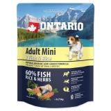 Ontario Dog Adult Mini Fish & Rice - 0,75