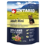 Ontario Dog Adult Mini Lamb & Rice - 0,75