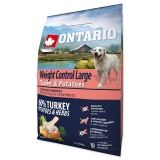 Ontario Dog Large Weight Control Turkey Potatoes - 2,25