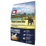 Ontario Dog Mini Weight Control Turkey & Potatoes - 2,25