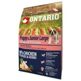 Ontario Dog Puppy & Junior Large Chicken & Potatoes - 2,25