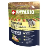 Ontario Dog Puppy Mini Chicken & Potatoes - 0,75