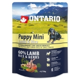 Ontario Dog Puppy Mini Lamb & Rice - 0,75