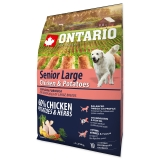 Ontario Dog Senior Large Chicken & Potatoes - 2,25