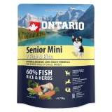 Ontario Dog Senior Mini Fish & Rice - 0,75